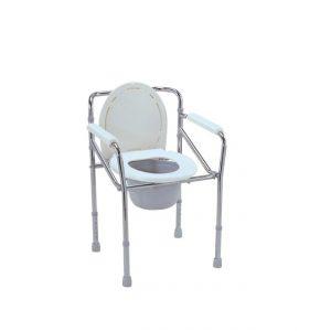 Chaise garde robe cadre amovible en acier