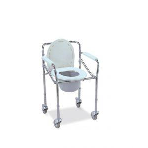 Chaise garde robe avec roulettes cadre amovible en acier