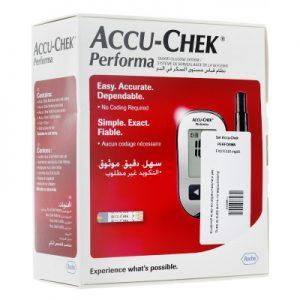 Accu-Chek Performa kit lecteur de glycémie avec autopiqueur