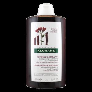 KLORANE - CHUTE DE CHEVEUX - Shampooing à la quinine et aux vitamines B, 400ml