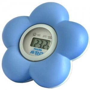 Avent Philips Thermomètre pour le bain et la Chambre bleu