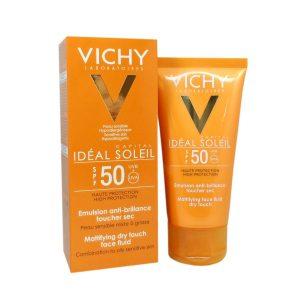 VICHY - Idéal Soleil - Emulsion toucher sec - SPF50, 50ml
