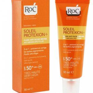 Roc Solaire Ip50+ Fluide Anti-taches - 50ml