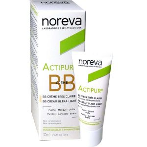Noreva Actipur BB Creme Anti-Imperfections teintée claire 30Ml