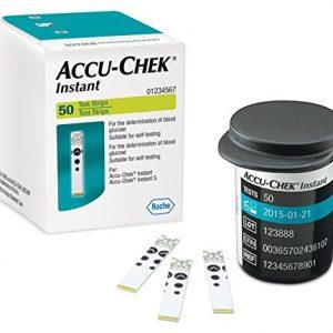 Accu-Chek Instant Bandelettes Réactives 50
