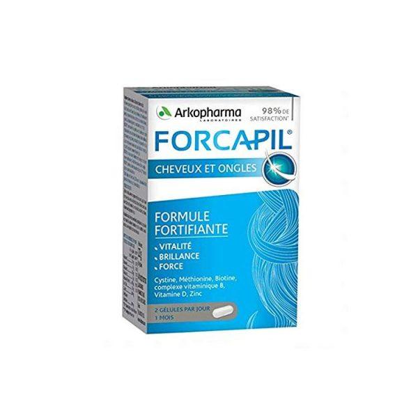 Arkopharma Forcapil Cheveux et Ongles 60 Gélules