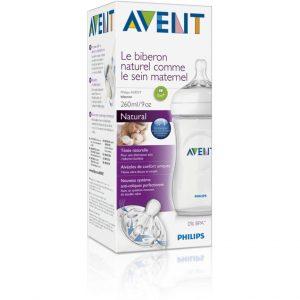 Avent Biberon Natural 260 ml