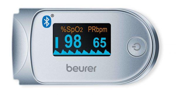 Oxymètre de pouls PO 60 Bluetooth® de Beurer