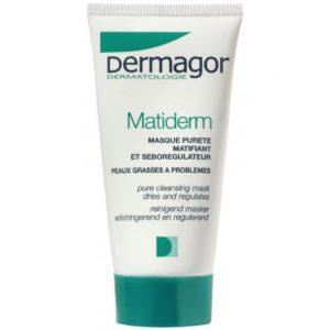 DERMAGOR - Matiderm - Masque pureté asséchant et régulateur, 50ml
