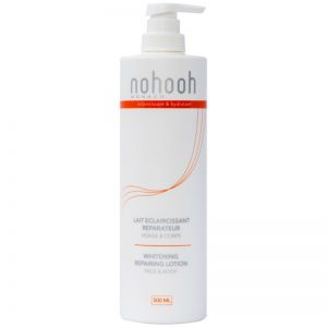 Nohooh Lait éclaircissant réparateur visage et corps 500 ml