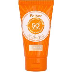 Polaar Crème Solaire Teintée Très Haute Protection SPF 50+ UVA-UVB 50 ml