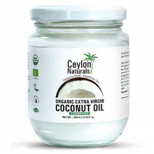 Ceylon Naturals Huile de Coco Extra Vierge Bio