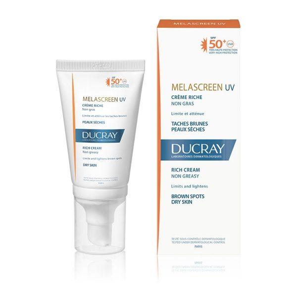 Ducray Melascreen UV Crème Légère Taches Brunes Peaux Normales à Mixtes SPF50+