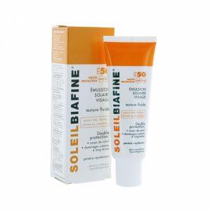 Soleil Biafine Emulsion Solaire visage SPF50
