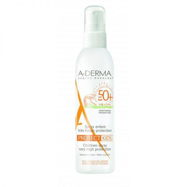 A-Derma Protect spray solaire enfant SPF50+ 200ml