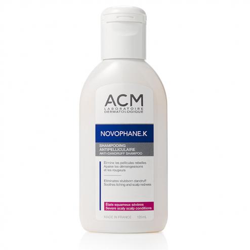 ACM Novophane K Shampooing antipelliculaire squames sévères 125ml
