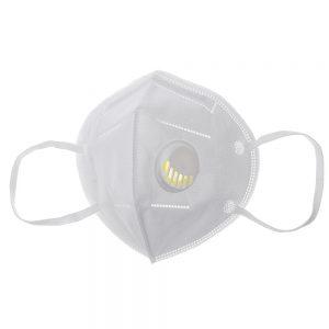 Masque facial KN95 Purificateur Masque anti-éclaboussures anti-éclaboussures Masque anti-poussière avec valve respiratoire