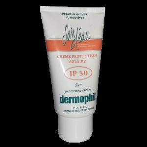 Dermophil Soin D'eau Creme Protection Solaire Spf50 75ml
