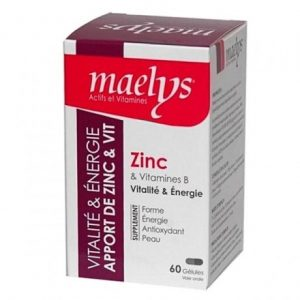 Maelys Zinc & Vitamines, 60 Gélules