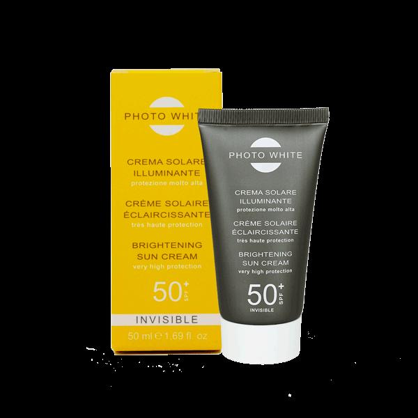Photowhite Crème Solaire Invisible Eclaircissante SPF 50+ 50ml