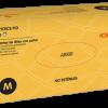 ICEMEDIC - Gants d'examen latex poudrés non stériles