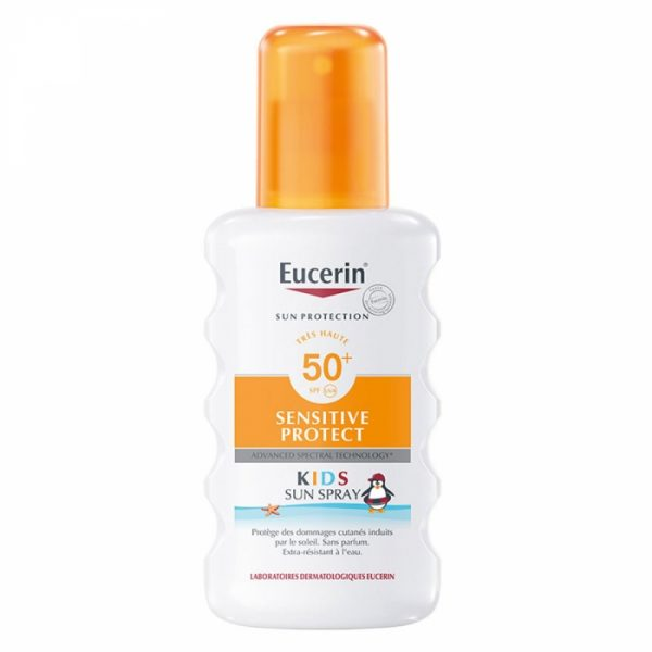 Eucerin Spray Kids Spf50+ Senstive Protect 200ml Sun Protection